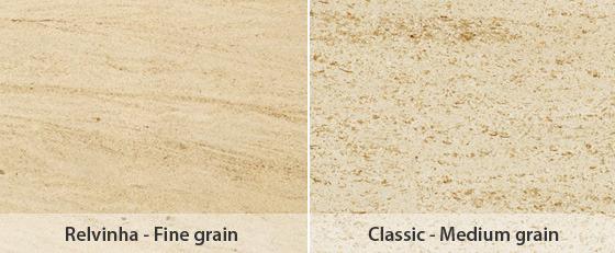 Moca Cream Limestone Grades