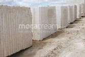 Moca Cream limestone blocks