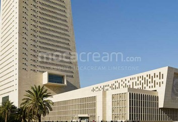 Central Bank of Kuwait - Moca Cream limestone