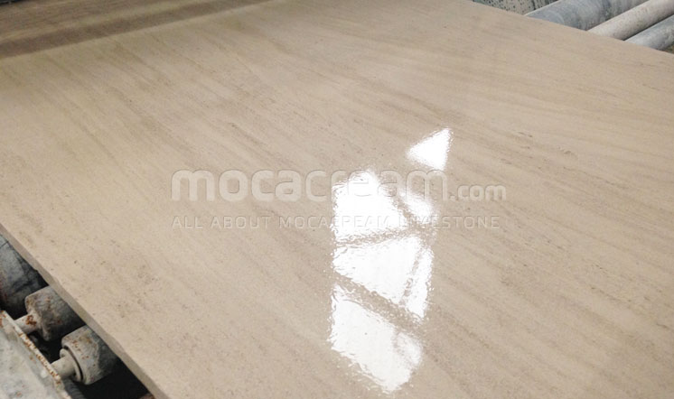 Moca Cream limestone from Portugal