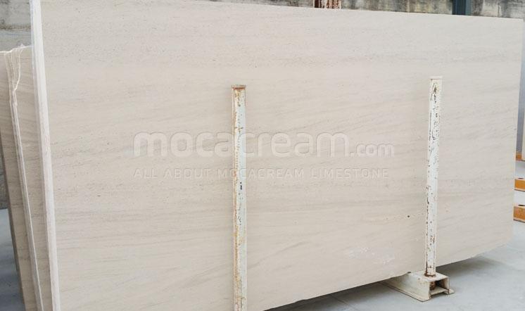Moca Cream limestone fine grain