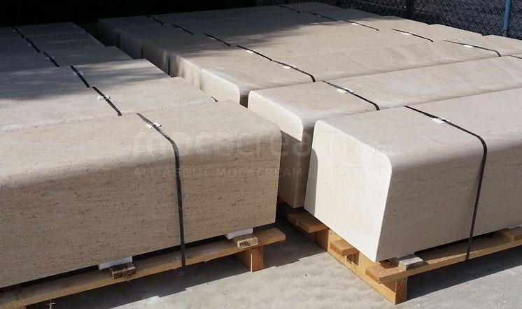 Moca Cream limestone stonework
