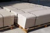 Moca Cream limestone benches