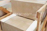 Moca Cream limestone packaging
