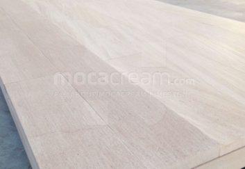 Moca Cream limestone wooden floor tiles